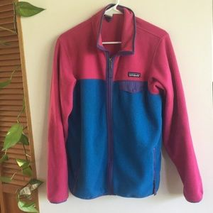 Colorblock patagonia jacket